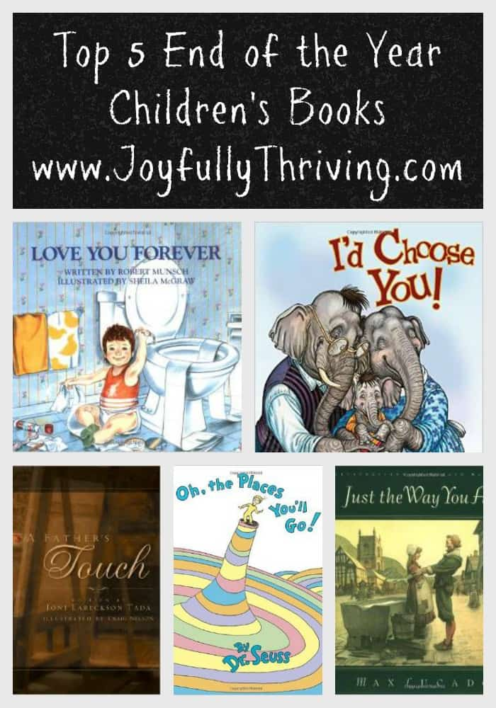 Top 5 End Of The Year Children S Books