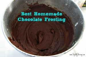 Best Homemade Chocolate Frosting