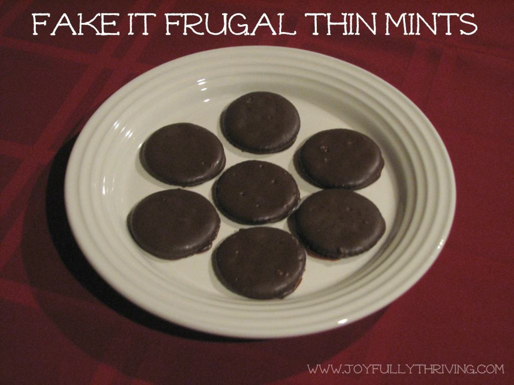 How to Make Thin Mints from Ritz Crackers