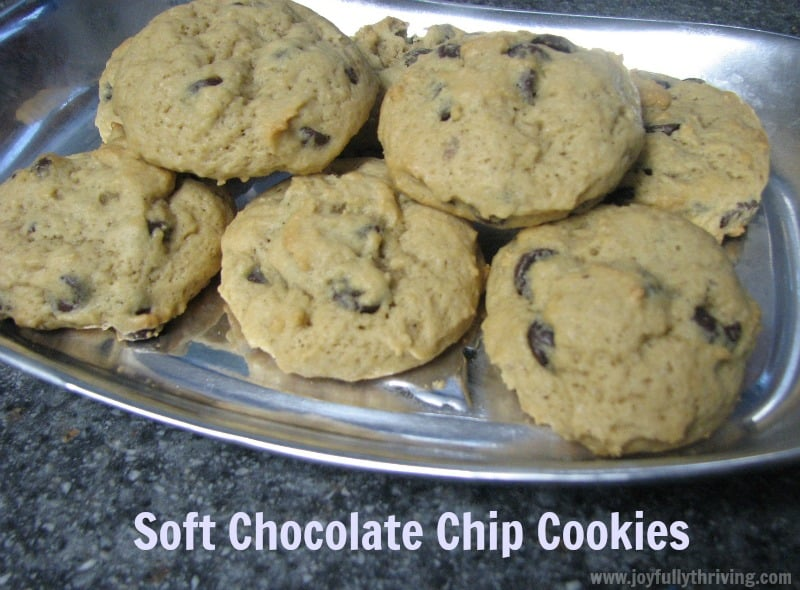 Fake It Frugal Chocolate Chip Cookies