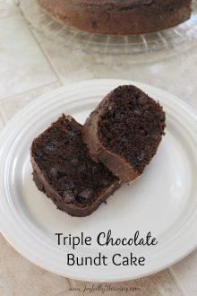 This chocolate cake is so good - and so easy! Triple chocolate with the help of a couple mixes? It's so easy to mix up in a hurry!