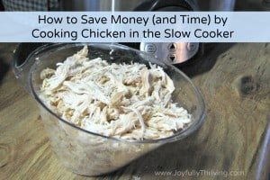 Chicken in the Slow Cooker