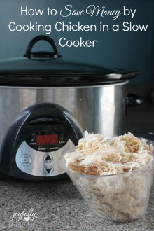 How to Save Money Cooking Chicken in the Slow Cooker