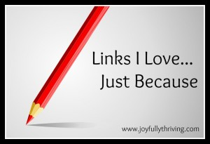 Links I Love Button