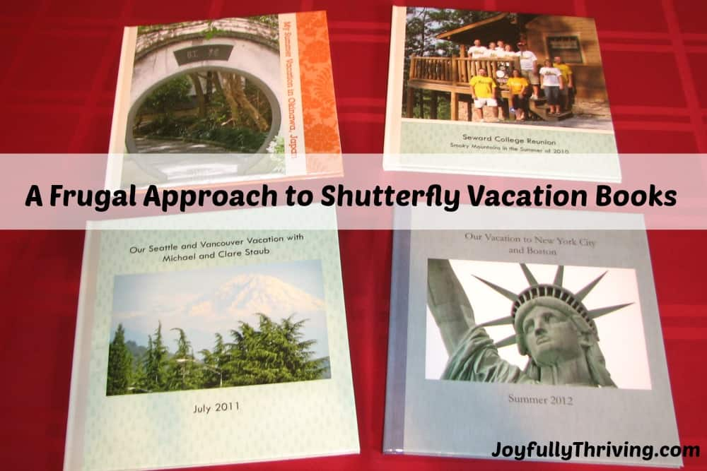 our vacation photo books