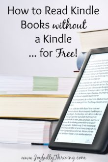 How to read kindle books for free. This is something everyone should know!