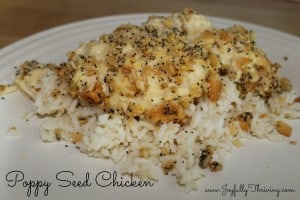 Poppy Seed Chicken - Joyfully Thriving