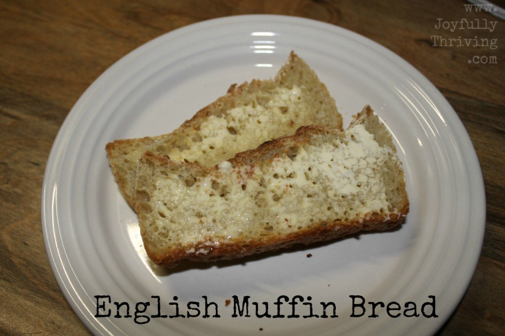 Simple English Muffin Bread - A great alternative to making your own english muffins, but in bread form!