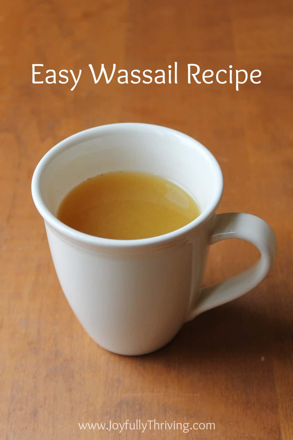Easy Wassail Recipe - I love homemade wassail! And this recipe is so simple and absolutely delicious. A great winter drink!