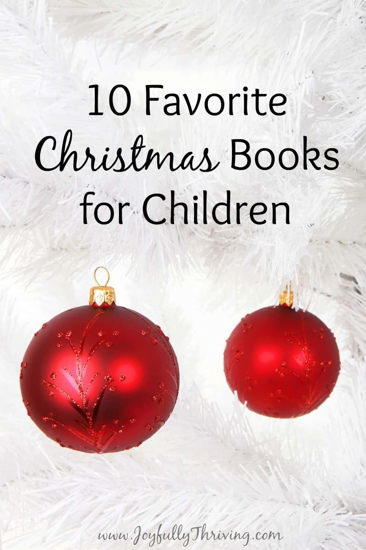 10 Favorite Christmas Books for Children