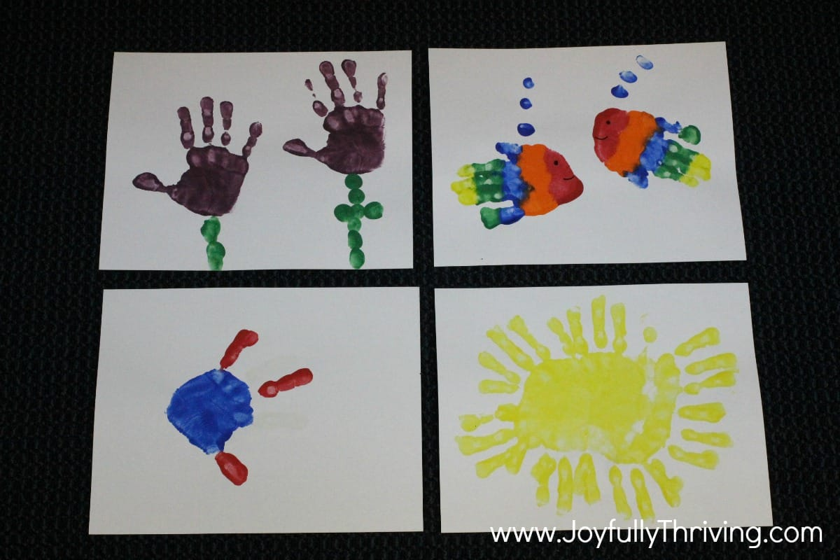 May Calendar Decorations : How to make a handprint calendar