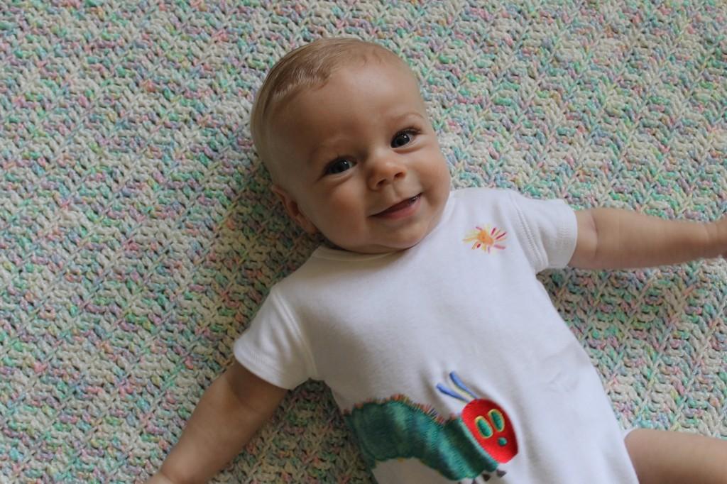 Nathan at 4 Months