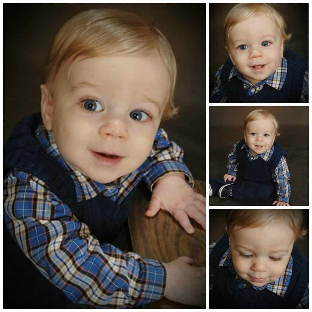 Nathan at 9 Months Collage