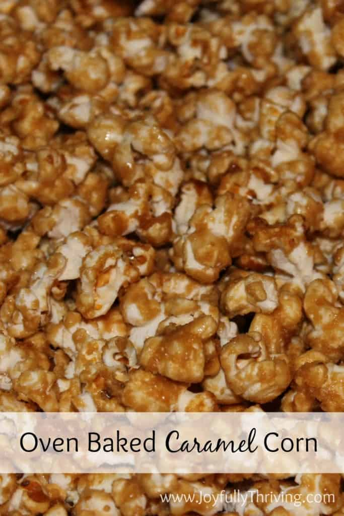 Oven Baked Caramel Corn - This is the best homemade caramel corn you will ever make or taste! It's a simple recipe and perfect for the holidays.