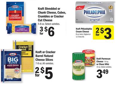 Meijer Kraft Cheese Ad