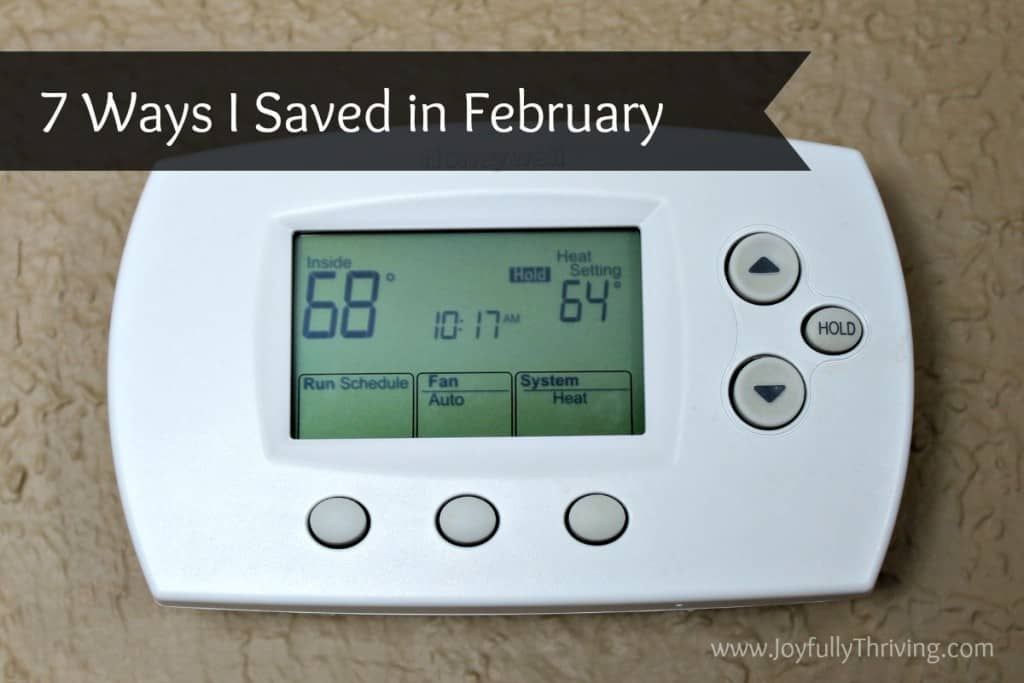 7 Ways I Saved in February - Here are a couple of the frugal ways I saved money this month. What do you do to save