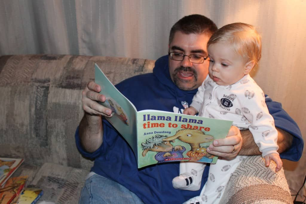 Book time with Daddy