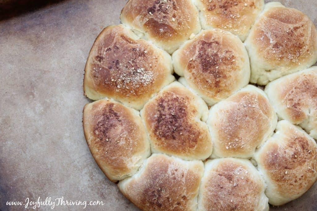Parmesan Garlic Rolls - Delicious!