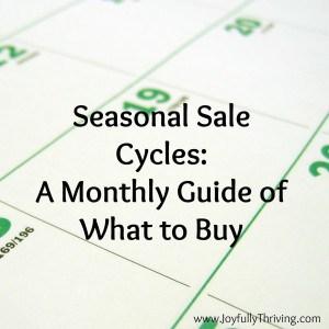 Seasonal Sale Cycles Square