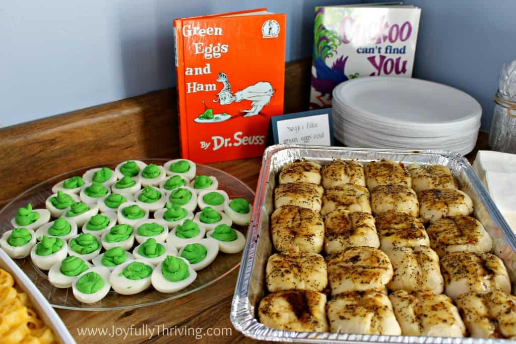 Green Eggs and Ham Food Ideas - Joyfully Thriving