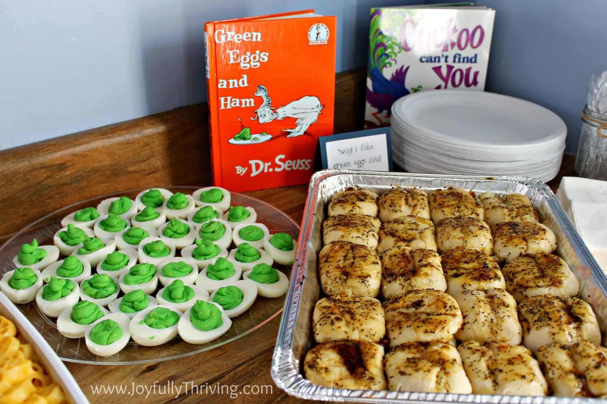 1st Birthday Book Themed Food