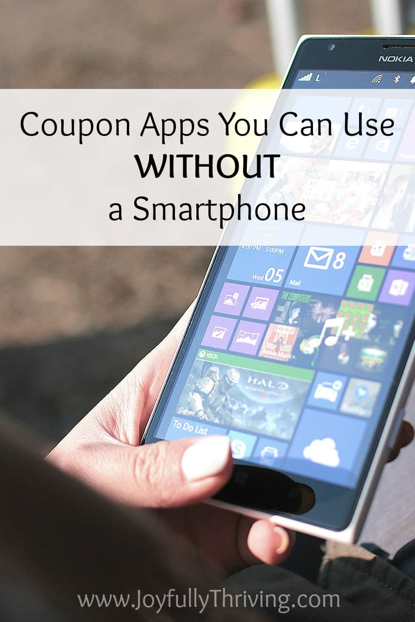 coupon apps you can use without a smartphone. Black Bedroom Furniture Sets. Home Design Ideas