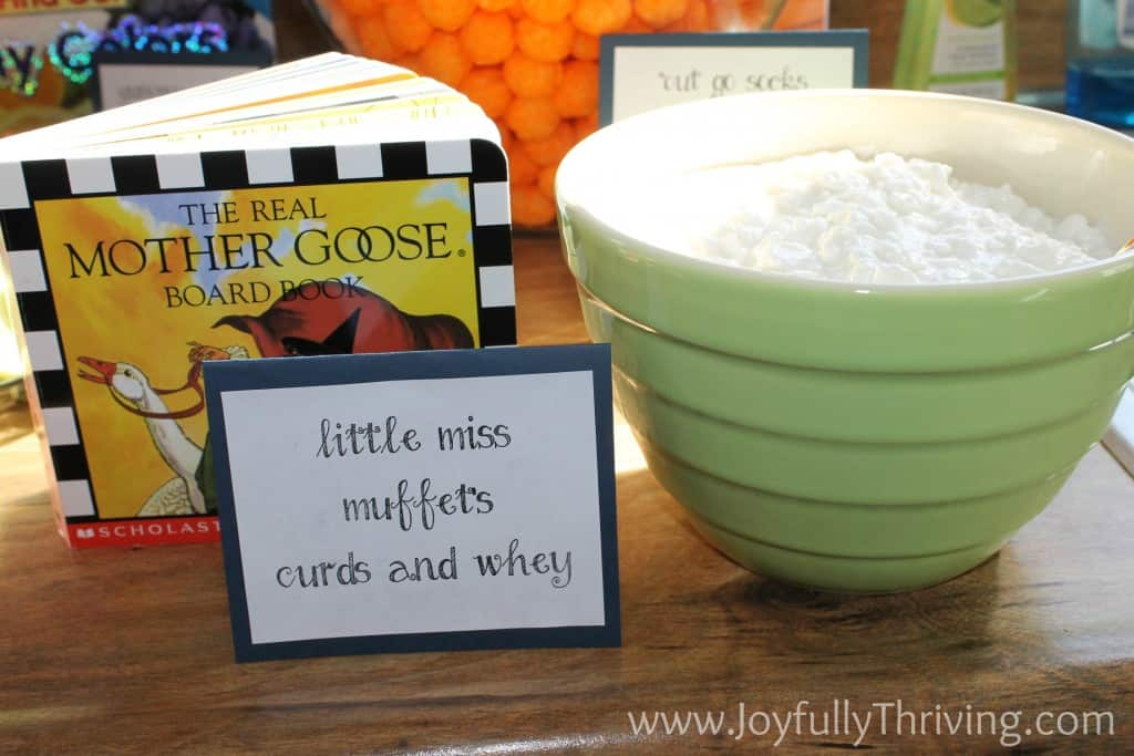 Little Miss Muffet's Curds and Whey