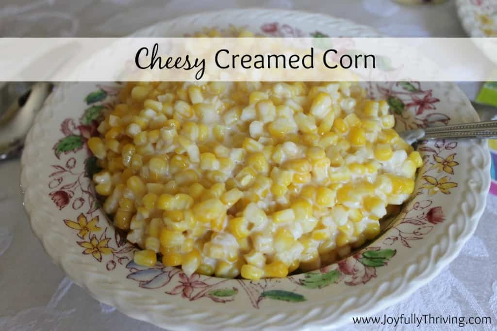 This is the most delicious recipe for cheesy creamed corn that you will ever try! Not only that, but you can quickly prepare it by cooking it in your slow cooker.