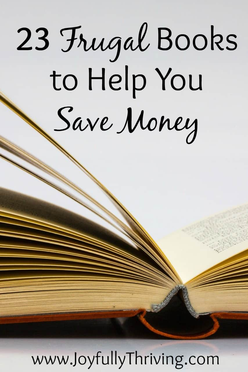 23 Frugal Books to Help You Save Money - A great list on a wide variety of frugal living and coupon clipping books that can help you save money.