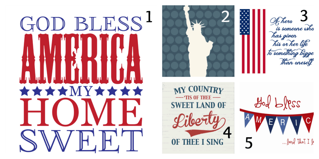 4th of July Printables 1
