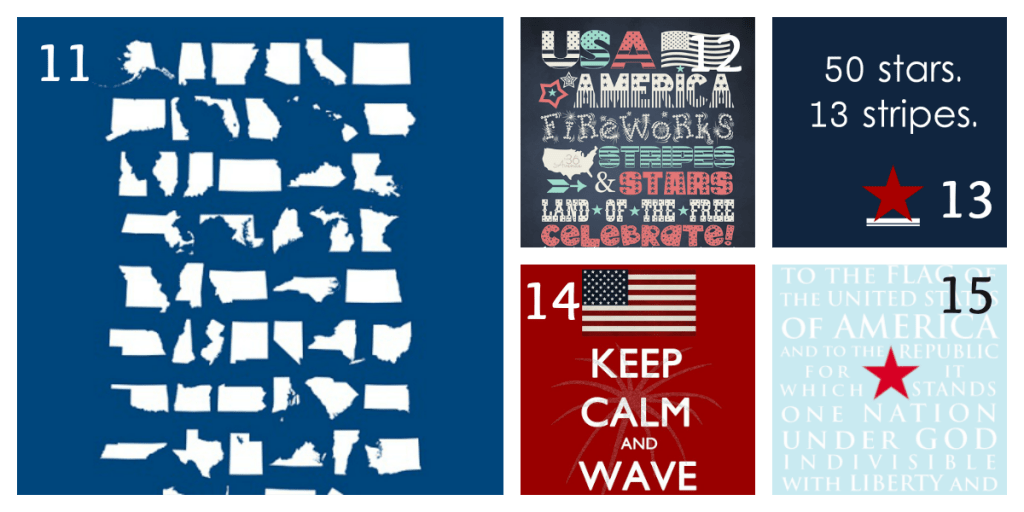 4th of July Printables 3