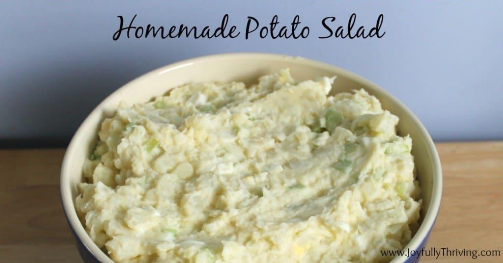 Homemade Potato Salad Facebook