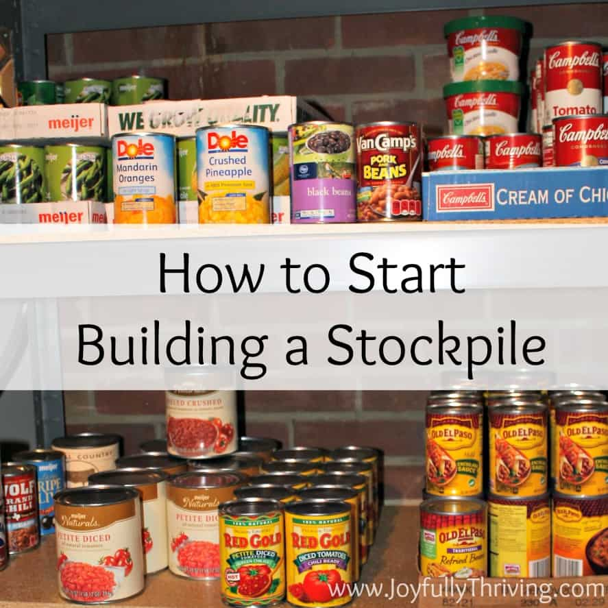 Want to save money on your grocery bill? Check out these tips for how start building a stockpile.