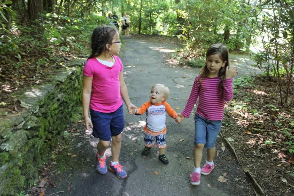 Nathan and His Big Girl Cousins