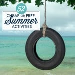Creative Savings Blog - 52 Free Summer Activities