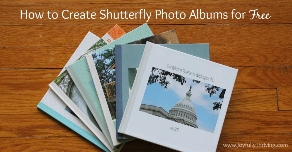 How to Create Shutterfly Photo Albums for Free Facebook