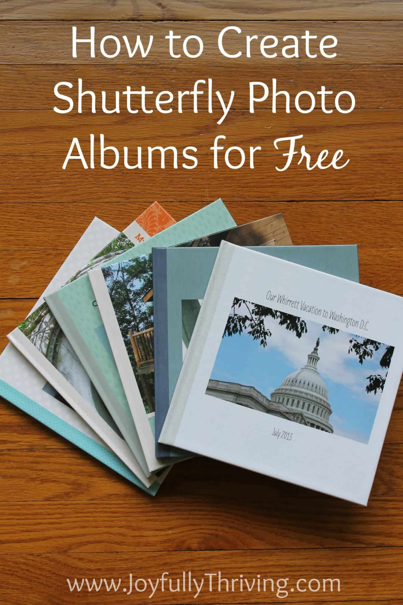 5 easy ways to create shutterfly photo albums for free