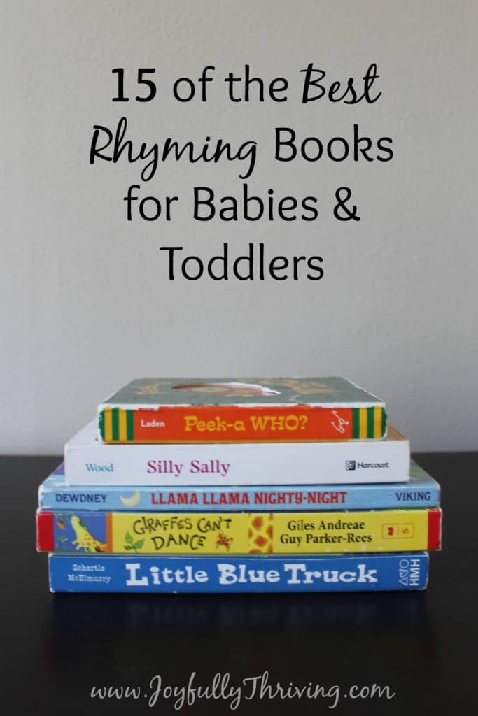 15 of the Best Rhyming Board Books for Babies & Toddlers - If you're looking for some great rhyming books for your little one, check out this list by a preschool teacher and mom!