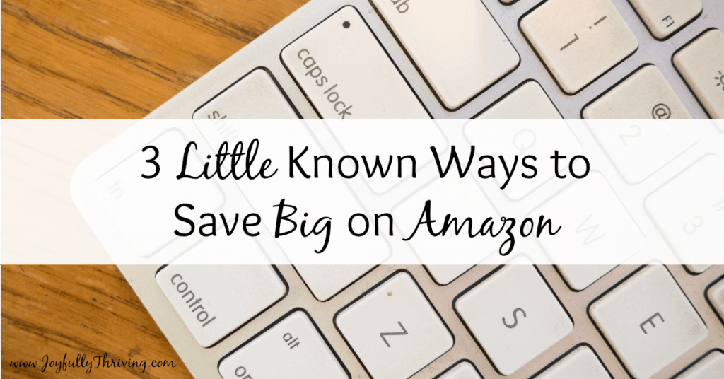 3 Little Known Ways to Save Big on Amazon Facebook