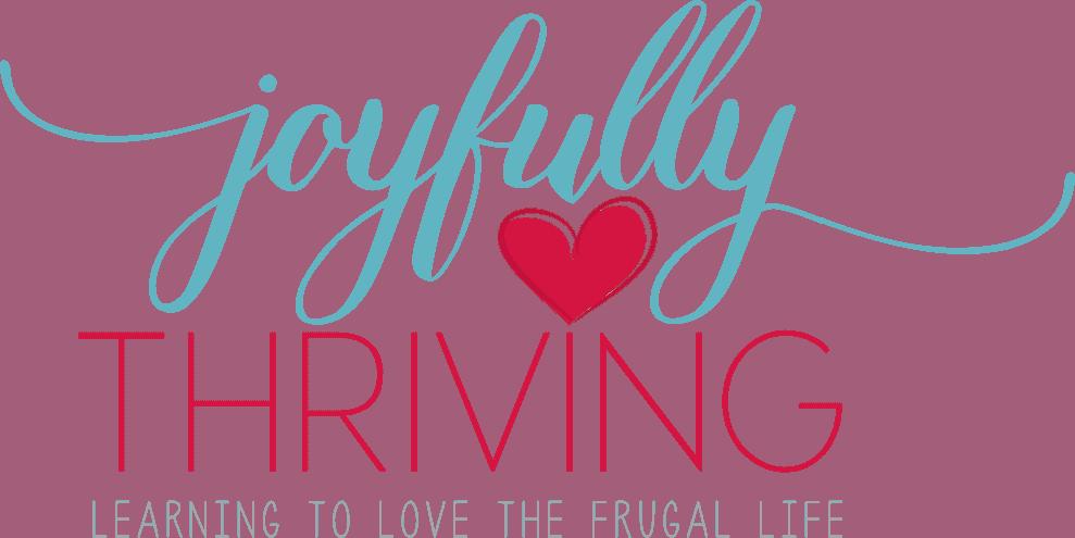 Joyfully Thriving header