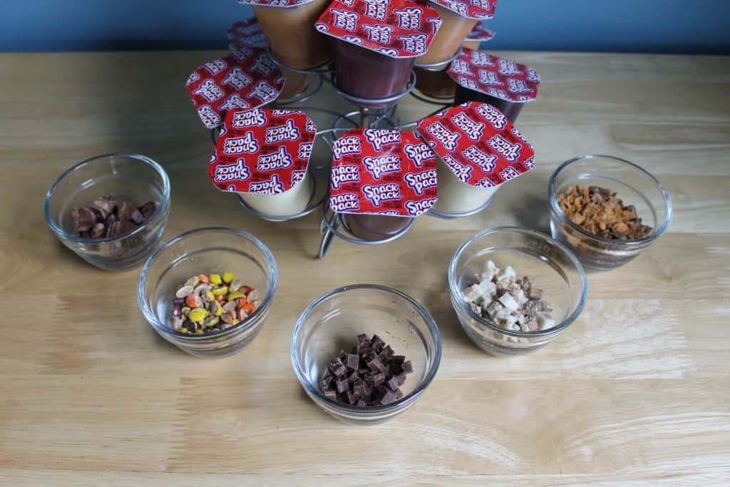 Snack Packs and Chopped up Halloween Candy