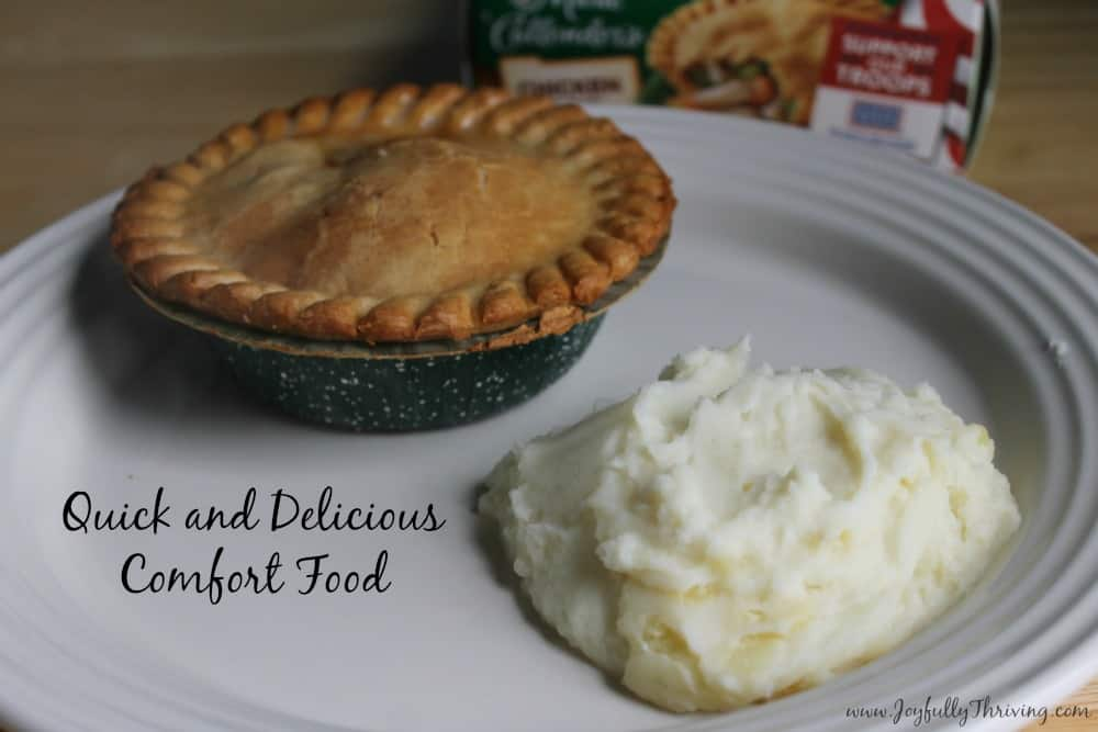 Quick and Delicious Comfort Food - Marie Callender Pot Pies and Make Ahead Mashed Potatoes