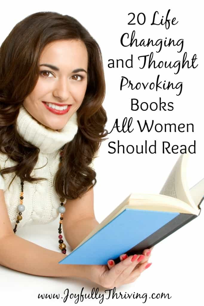 20 Life Changing Books All Women Should Read: Here are 20 books in a variety of genres that are some of the most life changing books I've read as a Christian wife and mom. Great ideas for a reading list!