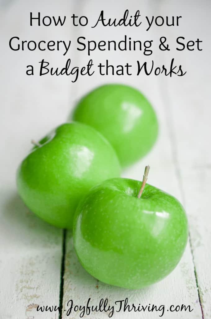How to Audit your Grocery Spending & Set a Budget that Works - If you really want to save on your grocery budget, you need a budget that works for your family! Here's help for setting one up.