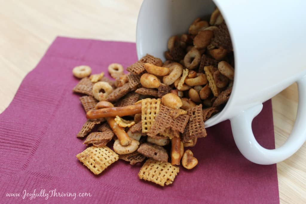 The 12 Days of ChexMas - 12 different flavors of Chex Mix recipes for you to create a simple, frugal and unique homemade gift!