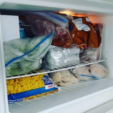 A Full Freezer