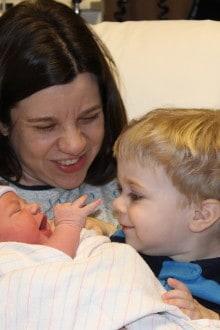 Nathan meets his sister, Emma