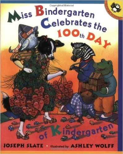 Miss Bindergarten 100th Day