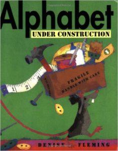 Alphabet under comstruction