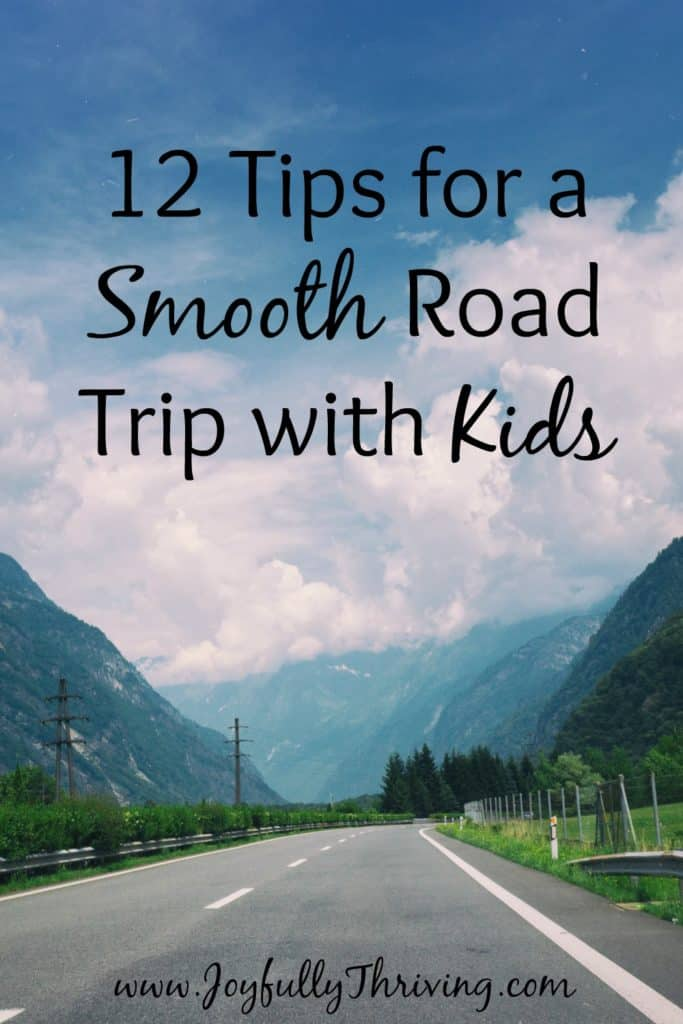 12 Tips for a Smooth Road Trip with Kids - Practical yet helpful! Great help for any parent!